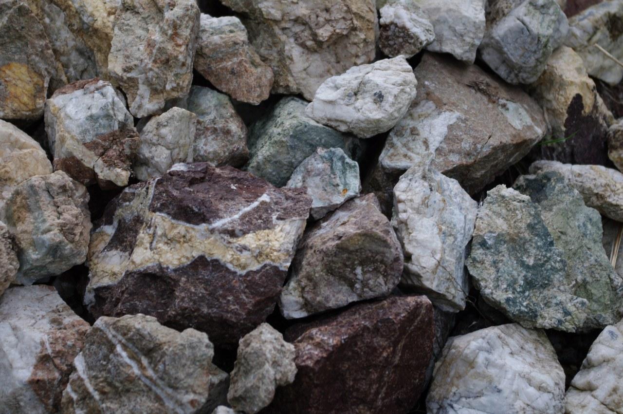 Minerale della miniera di Prestavèl