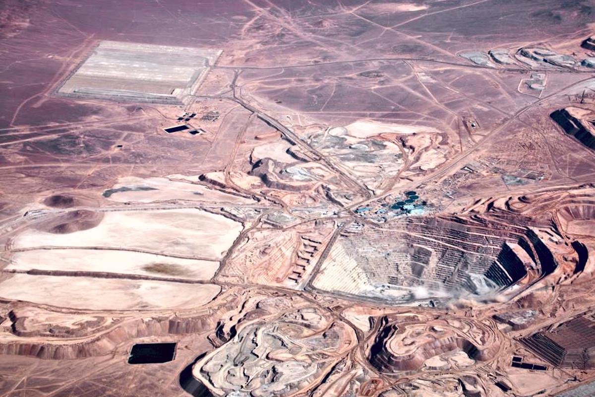 Miniera di rame in Cile