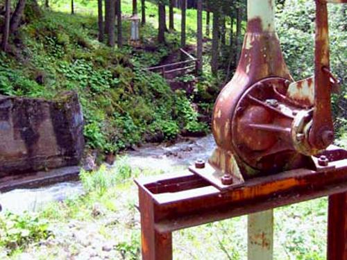 L'acquedotto serviva per portare all'impianto di trattamento l'acqua necessaria per la flottazione.