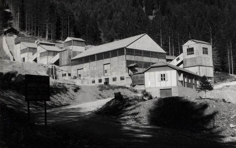 L'impianto minerario di Montecatini - Anni Sesssanta